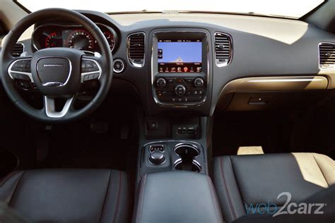 2015 Dodge Durango Interior by 2015 Dodge Durango R T Blacktop Awd Web2carz