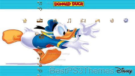 themes line donald duck sjouwer best ps3 themes