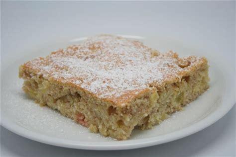 rhabarber apfel kuchen haberfellner rezepte