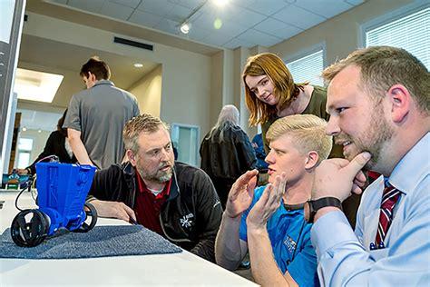 video mtsu engineering technology students showcase ingenuity gadgets  mech tech expo