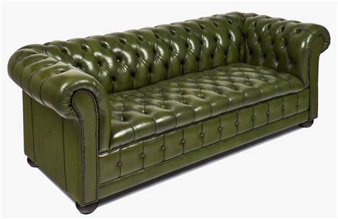 Leather Chesterfield Sofa Vintage Leather Chesterfield Sofa At 1stdibs
