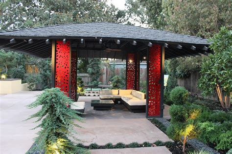 asian tea house gazebo michael glassman associates