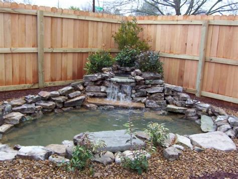 75 Beautiful Backyard Waterfall Ideas Homstuff Com Backyard Ideas For