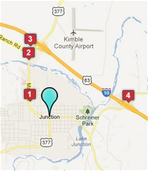 junction texas map junction texas hotels motels see all discounts