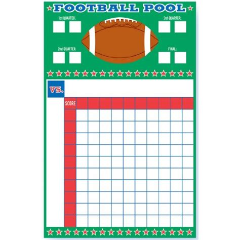 Office Football Bowl Pool Superbowl That Are Easy To Host Infobarrel