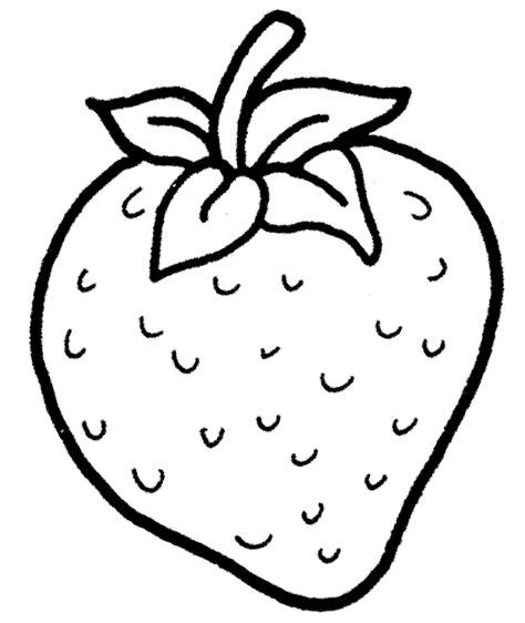 Payung Anak Corak Buah Strawberry mewarnai gambar buah strawberry untuk anak tk dan paud mewarnai gambar