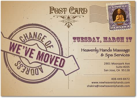 we are moving heavenly hands massage