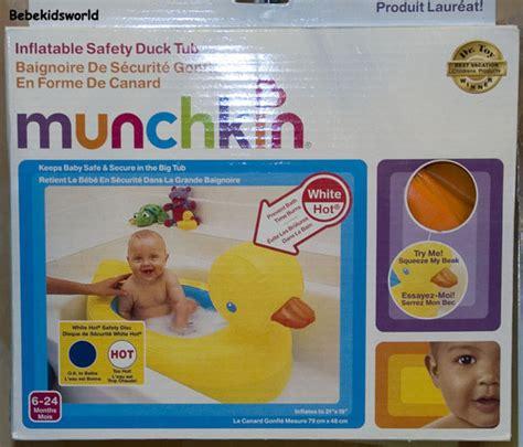 Munchin Bak Mandi Bayi Munchin Baby Bath Tub Www Bebekidsworld Munchkin Duck Baby Bathtub