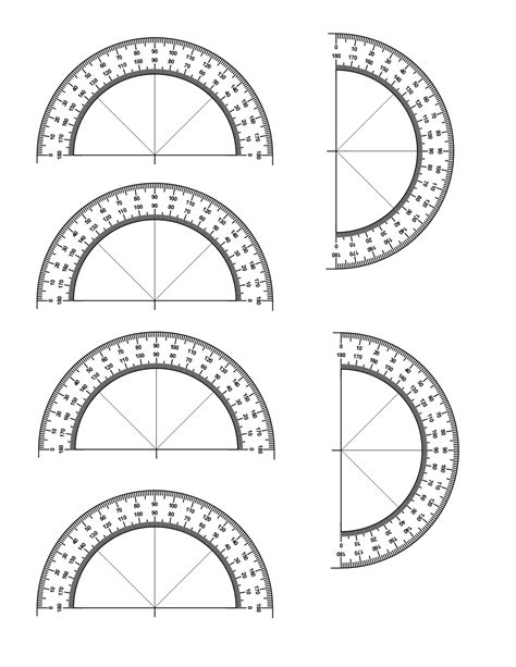 printable protractor small worksheet protractor print grass fedjp worksheet study site