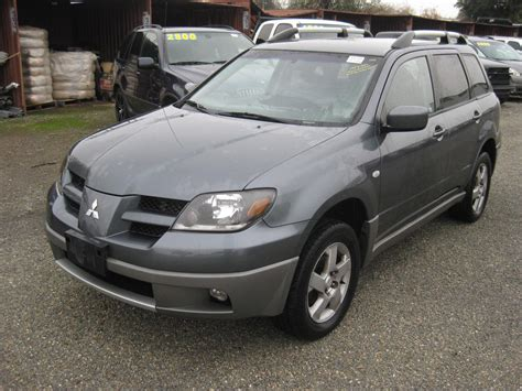 2003 mitsubishi outlander used parts 2003 mitsubishi outlander xls xls for sale stk r15735