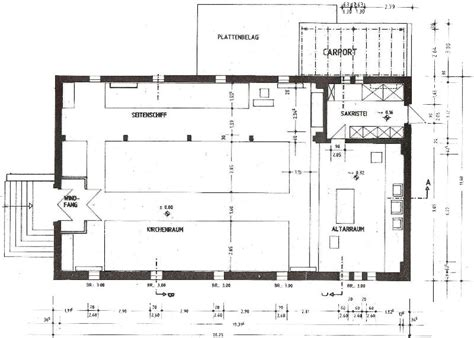 catholic church floor plans bielefeld former catholic church 187 converting a church