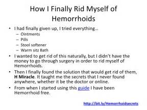 how to get rid of hemorrhoids at home get rid of hemorrhoids