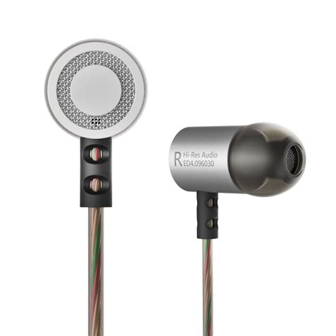 Knowledge Zenith Driver Earphone With Mic Kz Zse knowledge zenith hifi metal in ear earphones heavy bass 9 6mm driver with mic kz ed4 silver