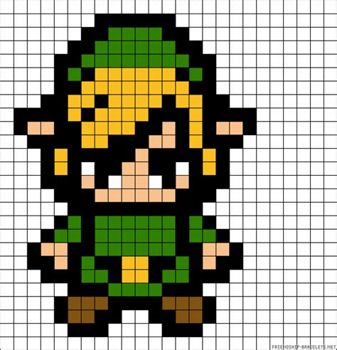 pattern link your childhood lives on in perler beads 40 nerdy 8 bit