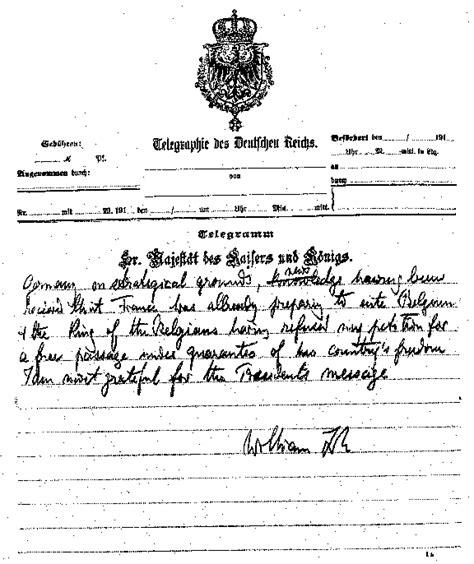 kaiser cancellation letter kaiser wilhelm letter to woodrow wilson page 5