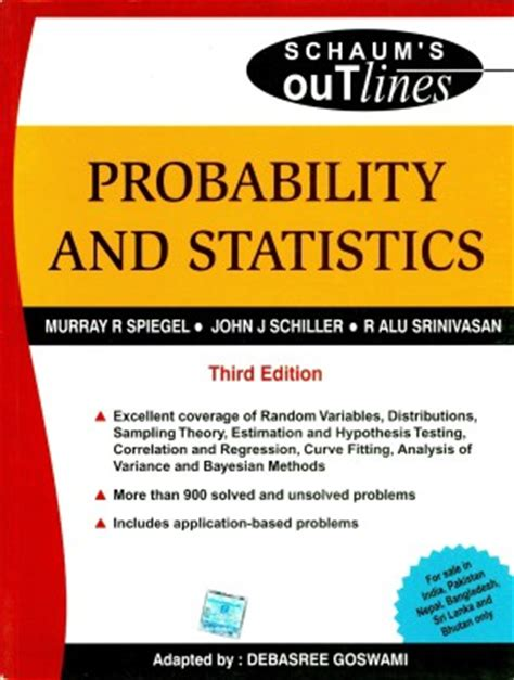 sos edition books probability and statistics sos 3rd edition