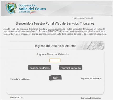 Pago Impuesto Vehiculo Valle Del Cauca | pago impuesto vehiculo valle del cauca
