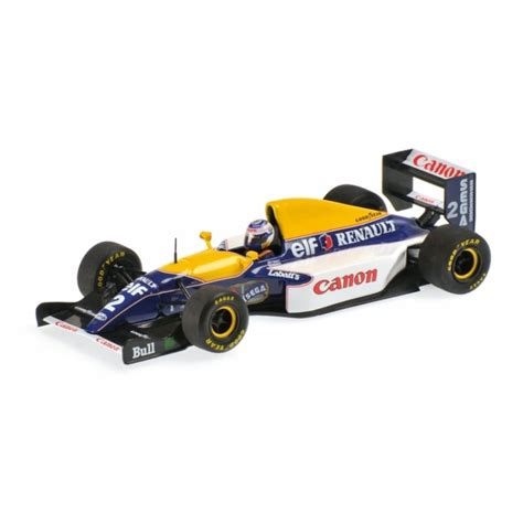 Kartu Koleksi Deck The Mini Car Collection 45 Collectables Cards minichs 1 43 436930002 1986 1993 williams renault fw15c a prost world chion minichs