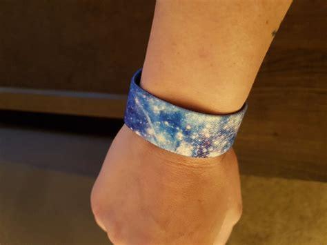 stardust zox straps wristband galaxy print zox straps