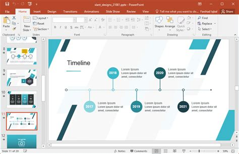 layout of a presentation for powerpoint animated slant designs for powerpoint