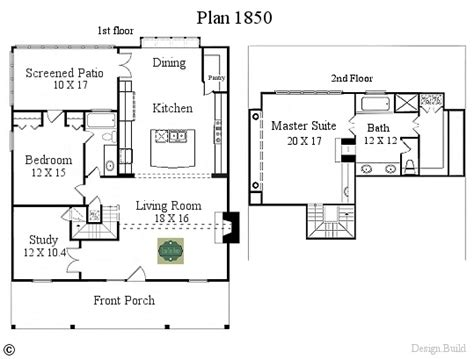 small house plans texas plan 1850