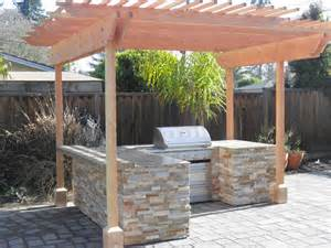How To Build An Outdoor Kitchen Island Image Detail For Kitchen Island Build In Bbq Grill Build