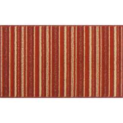 mainstays stripe kitchen rug red sedona other home