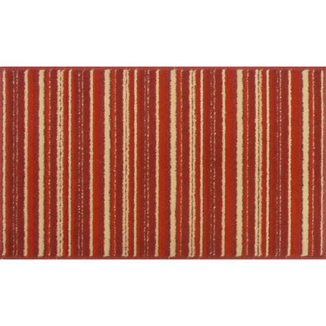 Striped Kitchen Rug Mainstays Stripe Kitchen Rug Sedona Other Home Walmart