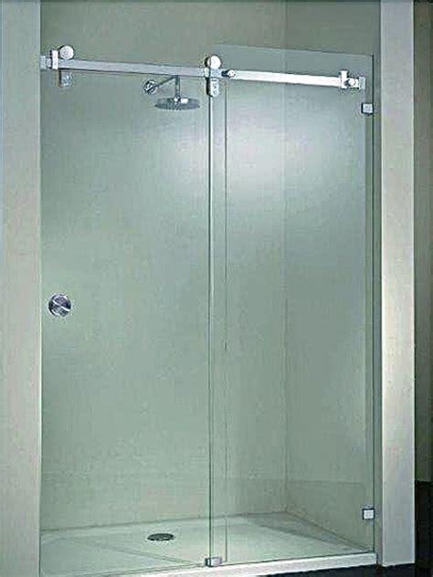 cristal templado en puerta de regadera y puerta de pvc con aglomerado foto cancel de ba 241 o en cristal templado corredizo de