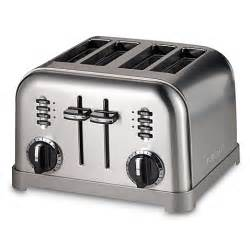 Cuisineart Toaster Cuisinart 174 Metal Classic 4 Slice Toaster Www