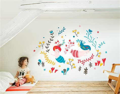 Under The Sea Wall Stickers vinilos infantiles vinilos para beb 233 s y ni 241 os decopeques