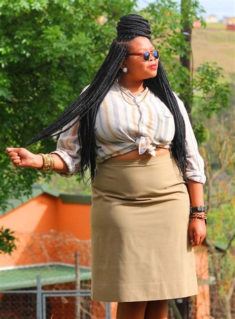 Braids For Plus Size Women | 50 plus size hairstyles to try this year
