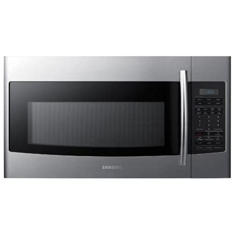 Install Samsung Over The Range Microwave Inttopp Me18h704sfs Installation Template