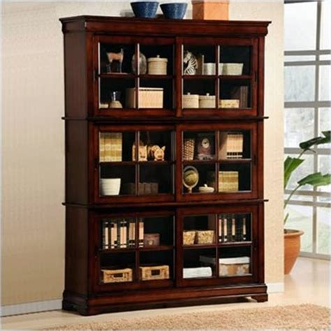 17 best images about amish cherry barrister bookcases on