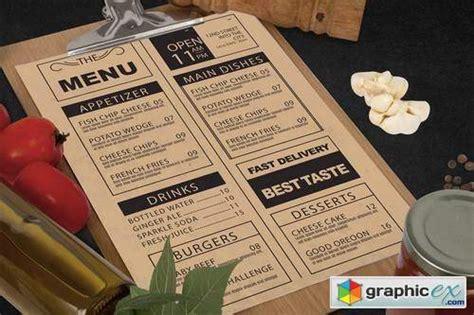 vegetables restaurant menu mock    vector
