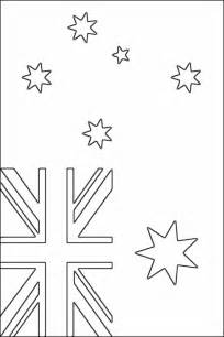 australian flag template to colour australian flag coloring page free printable coloring pages