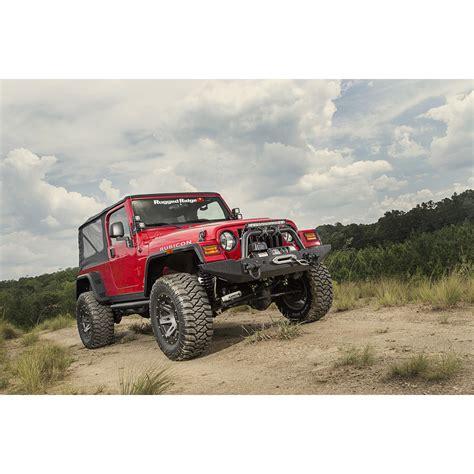 jeep wrangler tj flat fender flares rugged ridge 11640 30 hurricane flat fender flare kit