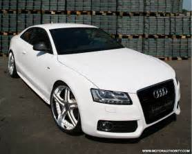 Audi White 300hp Senner Tuning Audi A5 White Speed Tdi