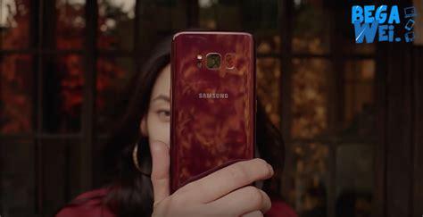 Kulkas Samsung Warna Merah warna merah burgundi hiasi samsung galaxy s8 begawei