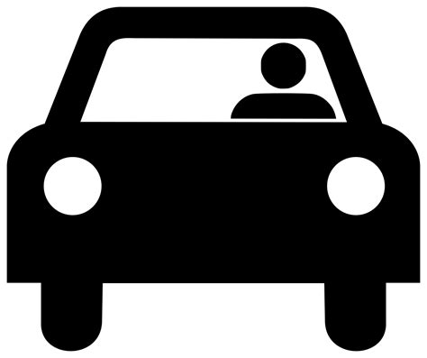 car logo black and white file car with driver silhouette svg wikimedia commons