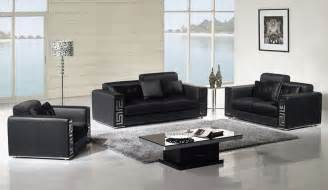 contemporary leather living room furniture home