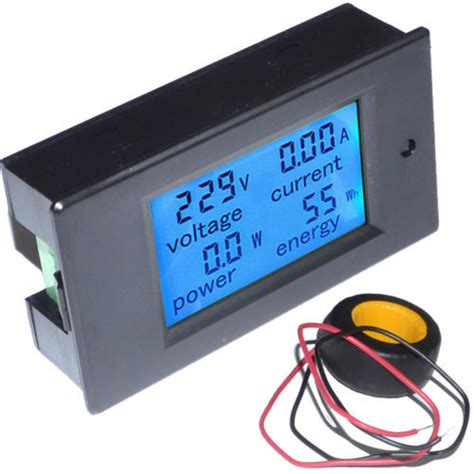 Ac Multifunction Voltmeter Meter Energy Power Monitor Ac 80 260 100a aliexpress buy 100a ac digital multi function led