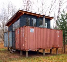 two if by sea diy cargo shipping container home on stilts