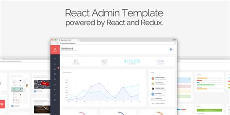 themeforest react react admin by reactapps themeforest