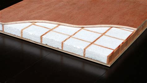 high performance honeycomb non warping patented