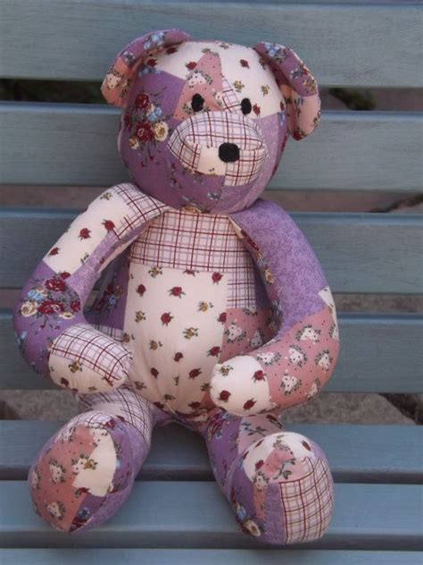 How To Make A Patchwork Teddy - 1000 images about teddy bears on patrones