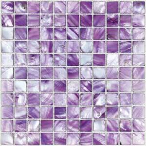 purple kitchen backsplash sea shell mosaic of pearl tile kitchen