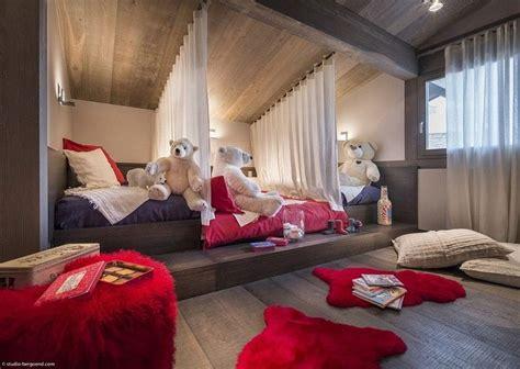 chambre enfant luxe location chalet mont blanc des vacances de r 234 ve
