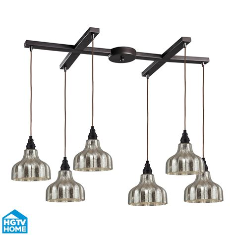 Multi Pendant Lighting Fixtures Elk Lighting 46008 6 Danica 6 Light Multi Pendant Ceiling Fixture