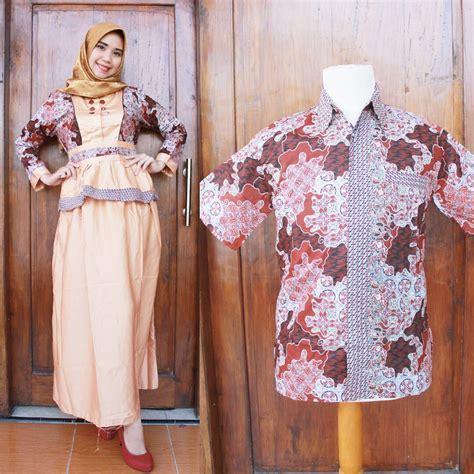 Baju Muslim Batik Rimbit A trend model baju batik kombinasi polos terbaru dan modis